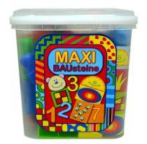 Maxi Bausteine építőkockák - vödrös - 02855