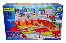 Wader Kid Cars 3D - tűzoltó pálya - 03701