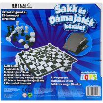 Sakk és dámajáték társasjáték készlet - 03945
