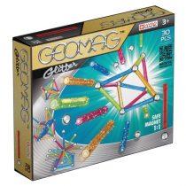 Geomag építőjáték, színes, csillogós - 05570