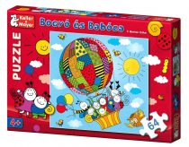 Bogyó és Babóca puzzle játék - léghajó - 06421
