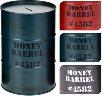 Persely - fém - pénzes hordó - 21129