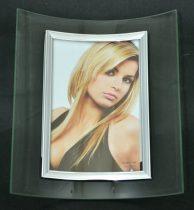 Fotókeret, íves, álló, 10 x 15 cm - 32690