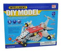 Fémépítő játék - repülőgép 46498