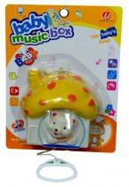 Felhúzható, zenélő babajáték - 47558