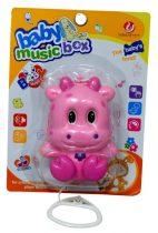 Felhúzható, zenélő babajáték - 47559