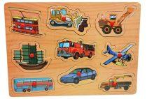 Fa puzzle, járművek - 48098