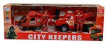 Tűzoltó mentő szett, dobozban - 48342