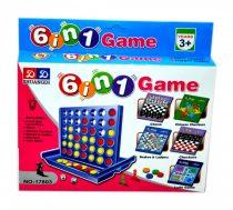 6 az 1-ben társasjáték csomag - 48453