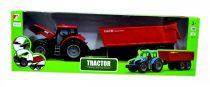 Traktor utánfutóval dobozban  - 48485