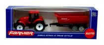 Traktor utánfutóval dobozban  - 48543