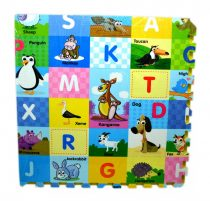 Puzzle szőnyeg - állatos és betűs - 48582