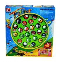 Horgász játék szett dobozban - elemes - 48592