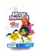Építőjáték - Magic Blocks Ball - 50 db-os csomag - 48693