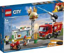 LEGO® City - Tűzoltás a hamburgeresnél - 49281