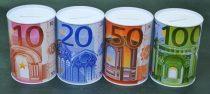 Persely, eurós, fém - 70501