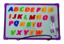 Mágneses tábla, betűs, angolos - 71334