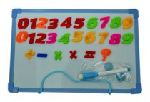 Mágneses tábla, számos, angolos - 71335
