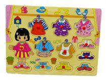 Fa puzzle, öltöztetős - 71344