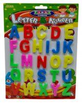 Mágneses betűk lapon - 71350