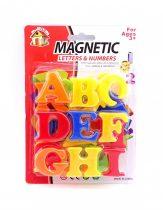 Mágneses betűk lapon - 71352