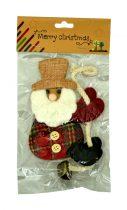 Csengős karácsonyi figura zacskóban - 71487