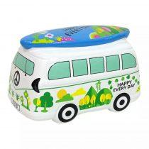 Persely - kerámia - mikrobusz szörfdeszkával - 71743