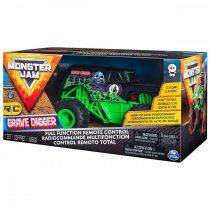 Monster Jam Grave Digger távirányítós autó - 01213