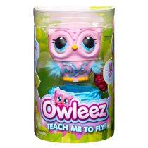 Owleez: interaktív bagoly, rózsaszín - 01292