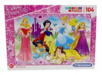 Clementoni puzzle, Disney Hercegnők - 104 db - 01316