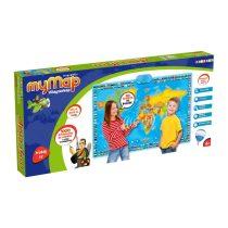Az én világtérképem - földrajz oktató társasjáték - 01390