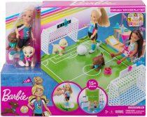 Barbie Dreamhouse Adventures - Chelsea foci játékszett - 01552