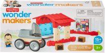 Fisher-Price Wonder Makers garázs játékszett - 01563