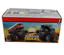 Hot Wheels Mini Monster Truck kilövővel meglepetéscsomag - 01570
