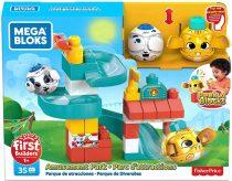 Mega Bloks: Peek A Bloks kukucskockák játszótér - 01577