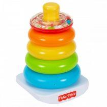Fisher Price - színes gyűrűpiramis - 01718