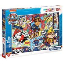 Clementoni puzzle csomag - Mancs Őrjárat - 104 darabos - 01738