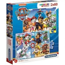 Clementoni puzzle csomag - Mancs Őrjárat - 2 x 60 darabos - 01798
