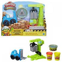 Play Doh - daru és emelővillás targonca szett - 01810
