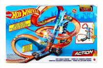 Hot Wheels - ütközések a toronyban - pályaszett - 01930