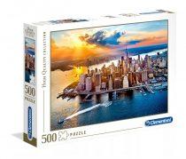 Clementoni puzzle csomag - New York - 500 darabos - 01948