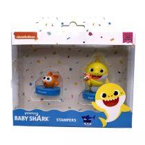 Baby Shark nyomda csomag - 2 db - tasakban - 01970