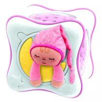 Szivárvány kocka - pink - 04038