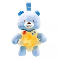 Chicco - jó éjt mackó - kék - 04044