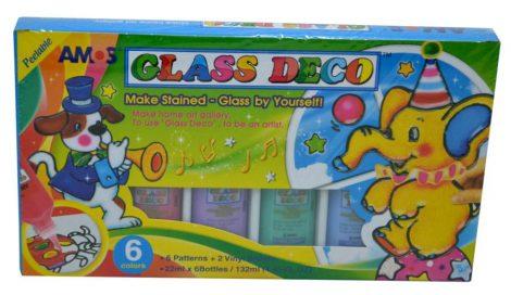 Amos üvegfesték készlet - 04541