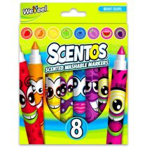 Scentos - illatos filctoll csomag élénk színekkel - 8 darabos - 05513