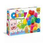 Clementoni - Clemmy puha építőkocka csomag - 24 darabos - 05561