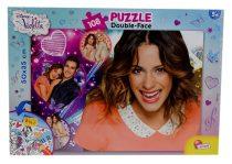 Violetta kétoldalas puzzle, 108 db - 05654