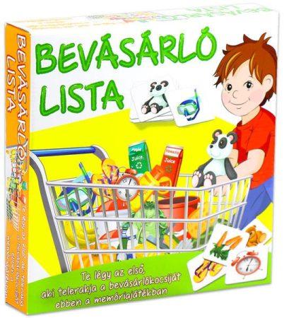 Bevásárlólista társasjáték - 06301
