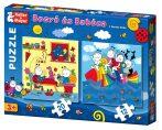 Bogyó és Babóca puzzle játék - szivárványhal - 06429